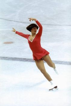 1976 Olympic Champion DorothyHamill  Dorothy Hamill is known for skating with a style that was perfect.