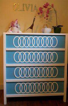 Adding Overlay's to a Malm Dresser