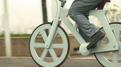 Una bicicleta hecha de cartón reciclado por 10 Euros: El transporte ecológico por excelecencia (vídeo) de cartón, style pinboard, cartón revolucionar