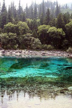 Lake, Jiuzhaigou, China