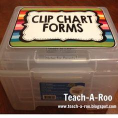 Clip Chart Award Box!!