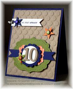 Stampin' Up! Heather Klump Happiest Birthday Wishes #122617