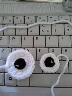 Ravelry: Eye-Eye Amigurumi Eye pattern pattern by Angela Armstrong