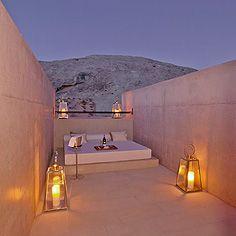Mesa pool suite sky lounge at Aman Resorts Amangiri in Utah