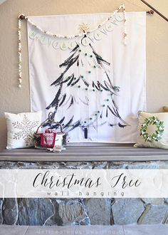 DIY Christmas Tree W
