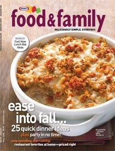 Kraft Food and Family Recipes Online! yum