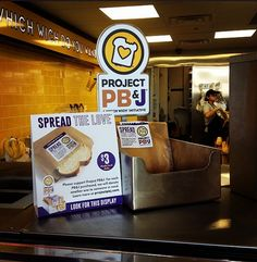 Buy a PB&J and @Which Wich Superior Sandwiches will donate one! #causemarketing #fwb40 superior sandwich