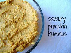 Savory Herbed Pumpkin Hummus