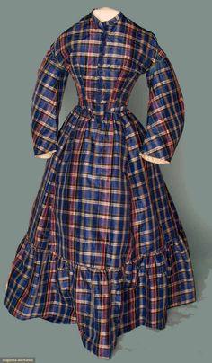 Teenager's Best Dress, circa 1865.