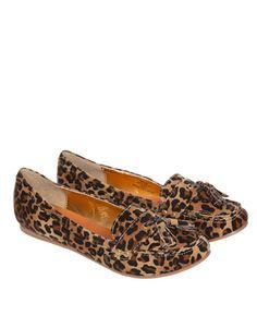 Miso Tassle Leopard Pumps