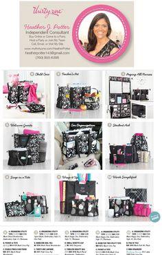 a few Thirty-One Spring 2013 Catalog items