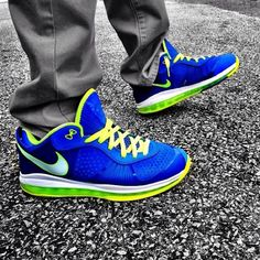 Nike LeBron X Sprite #nike #lebron #sneakers