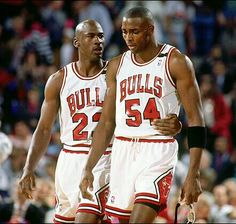 Michael Jordan and Horace Grant