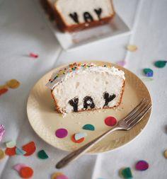 YAY cake by A Subtle Revelry  Amazing