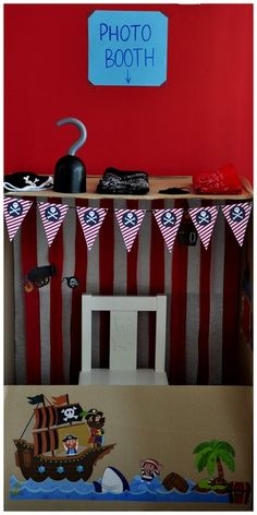 """Photo 3 of 7: Pirates / Birthday """"PIRATE PARTY - ahoy matey!"""" 