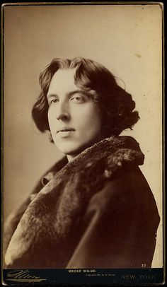"""Oscar Wilde"" (1854-1900), Irish writer and poet."