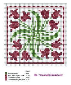 charts, biscornus geometri, pattern, cruz, crossstitch, punto, cross stitches, embroideri, biscornu chart