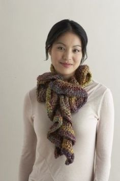 Free and Easy Ruffle Scarf Pattern