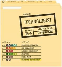 Adding 'Technologist' To Your Marketing Resume [Infographic]