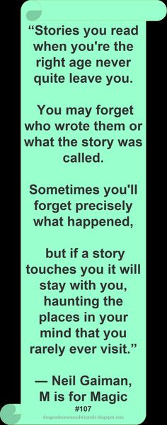 Neil Gaiman  #Quote #Stories