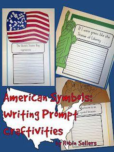 classroom, statue of liberty, symbols, teacher notebook, american symbol, writing prompts, kid crafts, writing activities, social studies