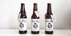 Fete Studio Custom Stationery -Wedding Favors (Custom Beer Labels) www.fetestudio.com