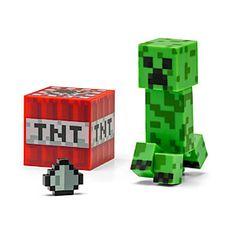 "ThinkGeek :: Minecraft 3"" Figures"