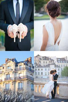 Paris wedding. Dream come true.