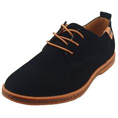 DADAWEN Men's Leather Oxford Shoe (bestseller)