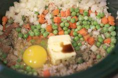 Repeat Crafter Me: Crock Pot Fried Rice