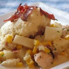 Bacon Chicken and Dumplings Allrecipes.com