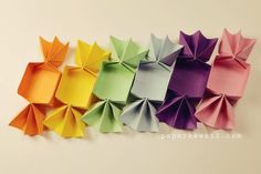 Origami Candy Box by Makoto Yamaguchi
