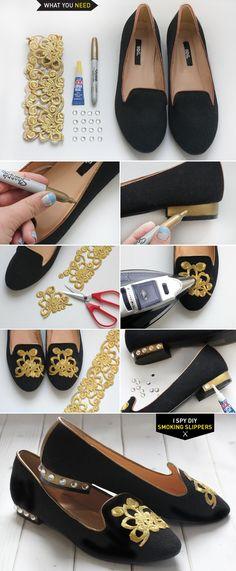 MY DIY | Smoking Slippers | I SPY DIY