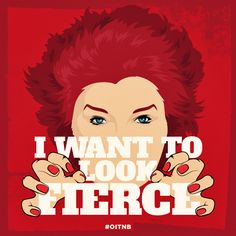 """oitnb:  """"I want to look fierce."""" - Red"""