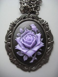 Purple Rose Cameo