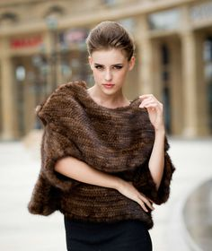 2014 new design mink fur knit women 2014 Christmas Gift Ideas for Your Wife