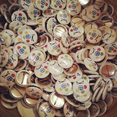 "@Blabla Car's photo: ""Lots of badges #BlaBlaDrink"""