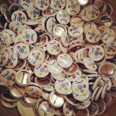 "@Blabla Car's photo: ""Lots of badges #BlaBlaDrink"""