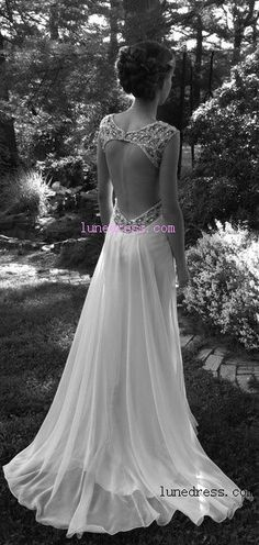 Maybe not quite that low... But I love the back of this dress