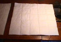 Another pinner wrote: Joining Pre-Quilted Blocks..I have re read these instructions...they are really clear and concise...USE THIS METHOD !!