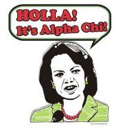 Holla! It's Alpha Chi!
