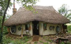 cabin, cob home, farmer, build house, the hobbit, natural materials, hobbit houses, little cottages, cob houses