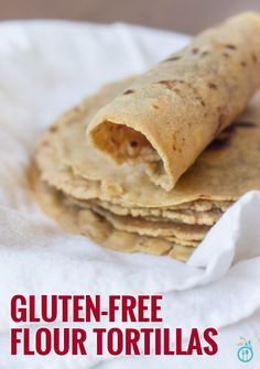 Gluten-Free Flour Tortillas using Bob's Red Mill 1-to-1 Baking Flour