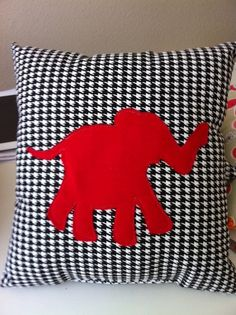 Roll Tide Alabama pillow on Etsy, $27.50