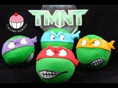 TMNT Cupcakes! Make Teenage Mutant Ninja Turtle Cupcakes