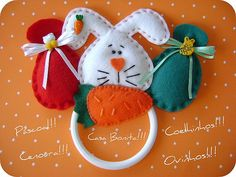 artesanato de páscoa coelho