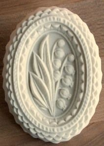 from springerle cookie mold - lily of the valley -- exquisite!