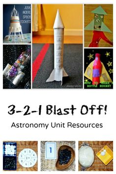 Astronomy Unit Resources-Rockets and Space Activities for Kids