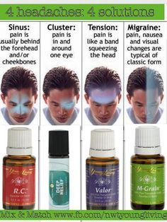 Essential oils that can relieve your headaches naturally