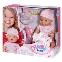 Baby Born Interactive Doll - Pink